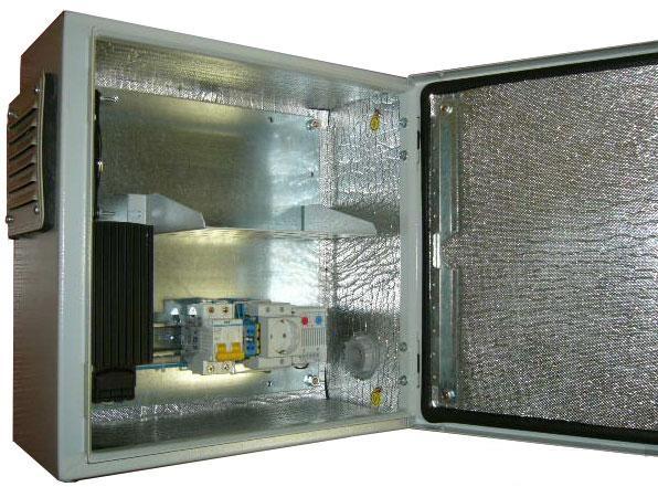 Термошкаф для оборудования связи своими руками 16